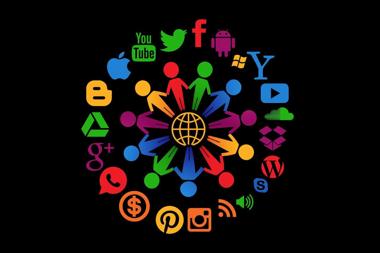 Immer mehr Menschen nutzen Social Media und Social Media Icons